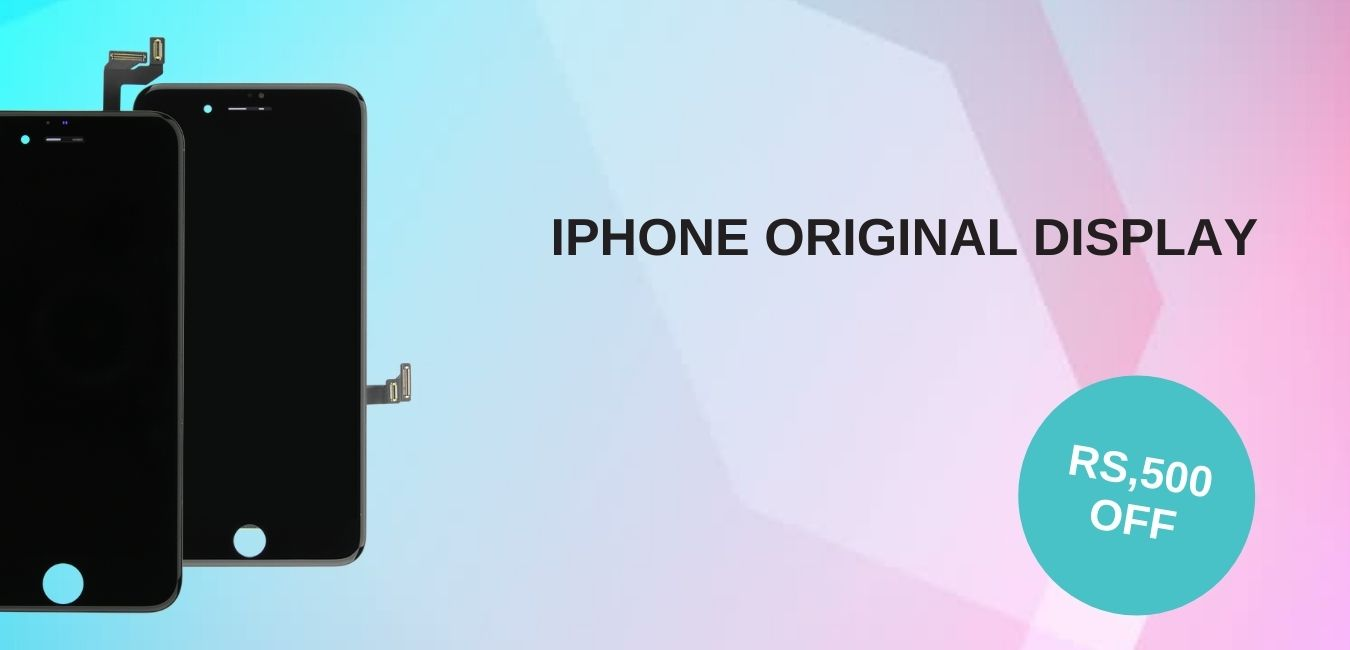 RS,500 OFF IPHONE ORIGINAL DISPLAY